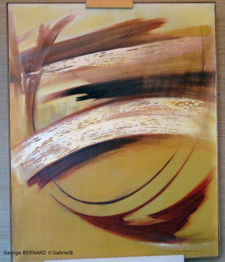 Voyage à travers le temps (1969) 92 x 73 cm