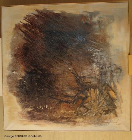 A la recherche du soi (1972) 120 x 120 cm