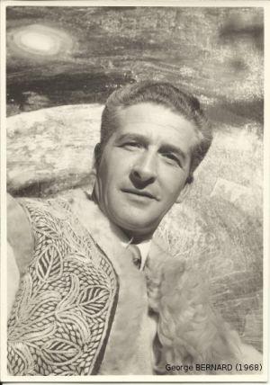 Portrait de George BERNARD en 1968