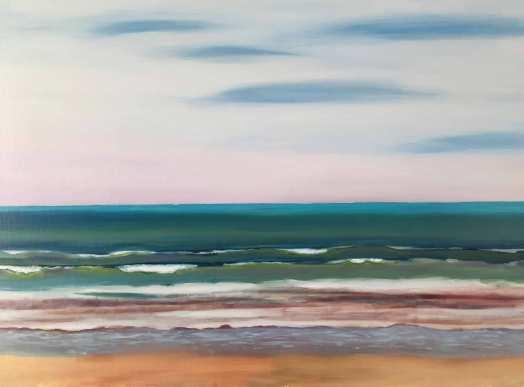 Une plage en Ré