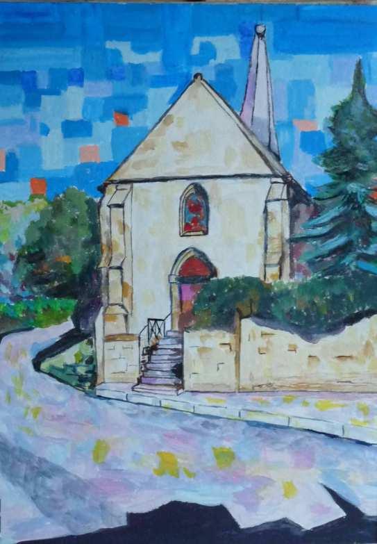 L'église d'Hedouville