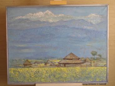 Lumières du Sikkim (1979) 73 x 116 cm