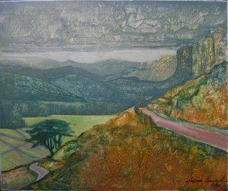 Les brulis, Ceylan (1961) - 40 x 80 cm