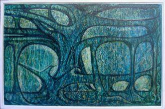Figuier banyan, Ceylan (1960) - 60 x 92 cm