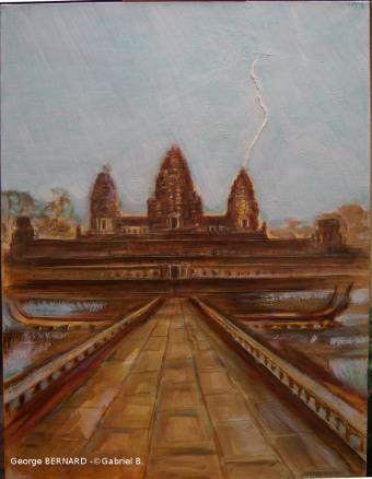 Foudre sur Angkor