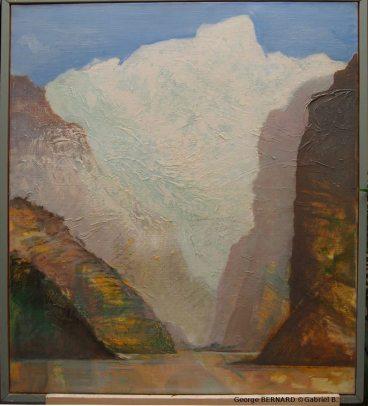 Gorges des montagnes