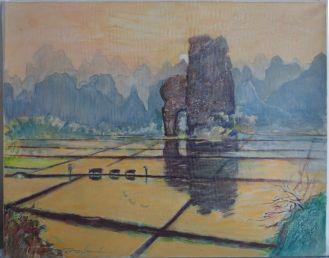 Koueilin au couchant, Chine